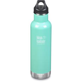 Klean Kanteen Classic Vacuum Insulated Drinkfles Loop Cap 592ml, turquoise